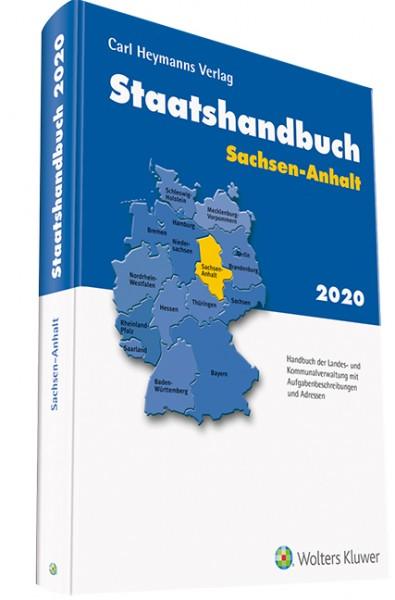 Staatshandbuch Sachsen-Anhalt 2020